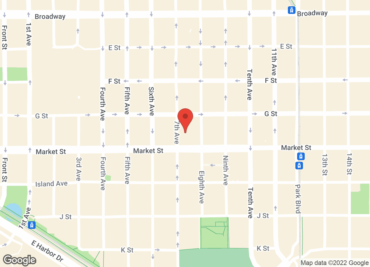 Google Map of VCA Market Street Animal Hospital