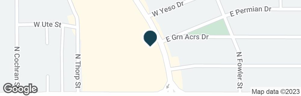 Google Map of1225 N TURNER ST