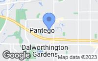 Map of Pantego, TX