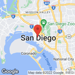 San Diego Fire-Rescue Department on the map