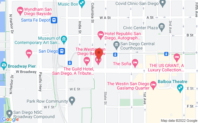 static image of 402 West Broadway , Suite 400, San Diego, California
