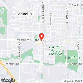 Map of Pizza To-Go in Dallas, TX – Pizza Takeout at 3420 W Illinois Ave, Dallas, TX 75211