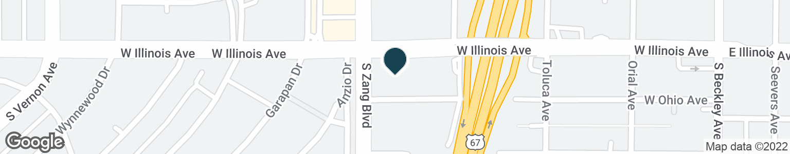 Google Map of438 W ILLINOIS AVE