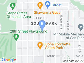 Map of Dianes Doggie Daycare & Boarding Dog Boarding options in San Diego | Boarding