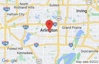 Map of Arlington