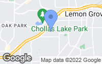 Map of Lemon Grove, CA