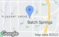 Map of Balch Springs, TX