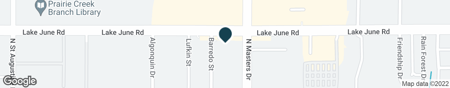 Google Map of10152 LAKE JUNE RD