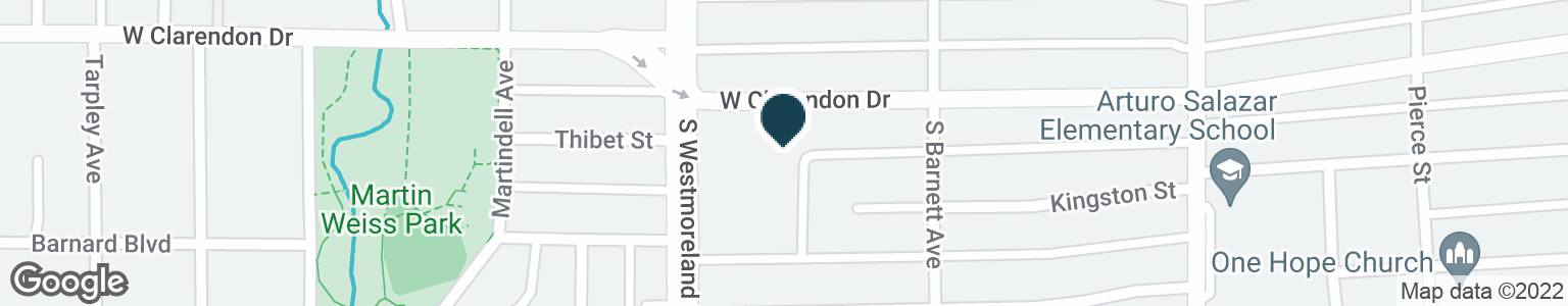 Google Map of1104 S WESTMORELAND RD