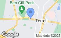 Map of Terrell, TX
