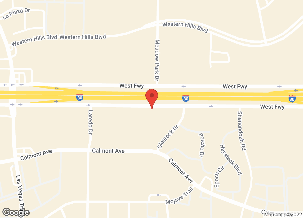 Google Map of VCA Fort Worth Animal Medical Center