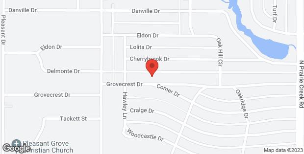 8621 Grovecrest Drive Dallas TX 75217
