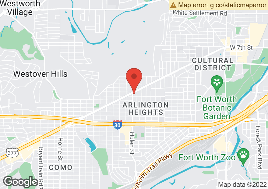 Google Map of 4515 CAMP BOWIE BLVD