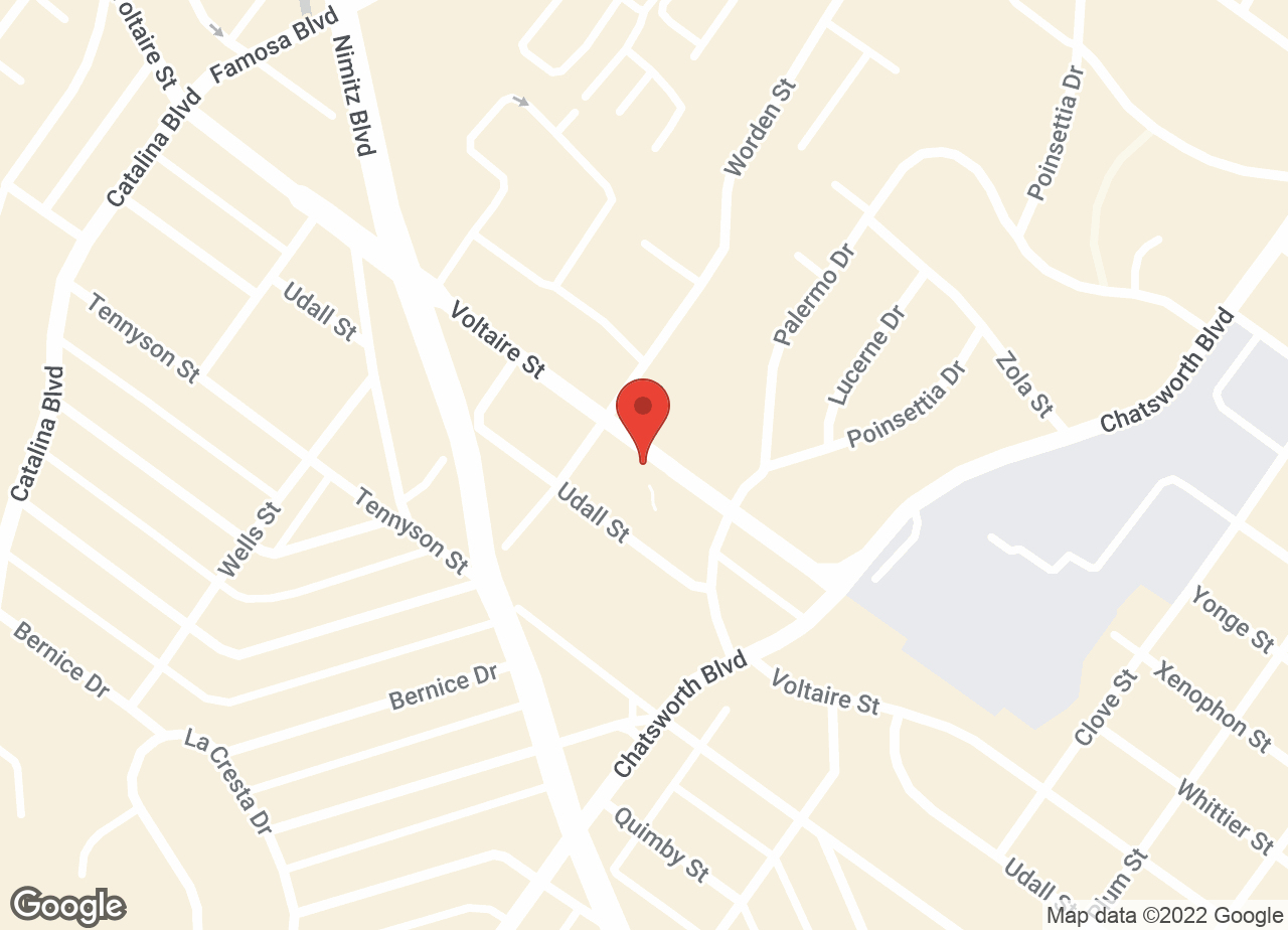 Google Map of VCA Peninsula Animal Hospital