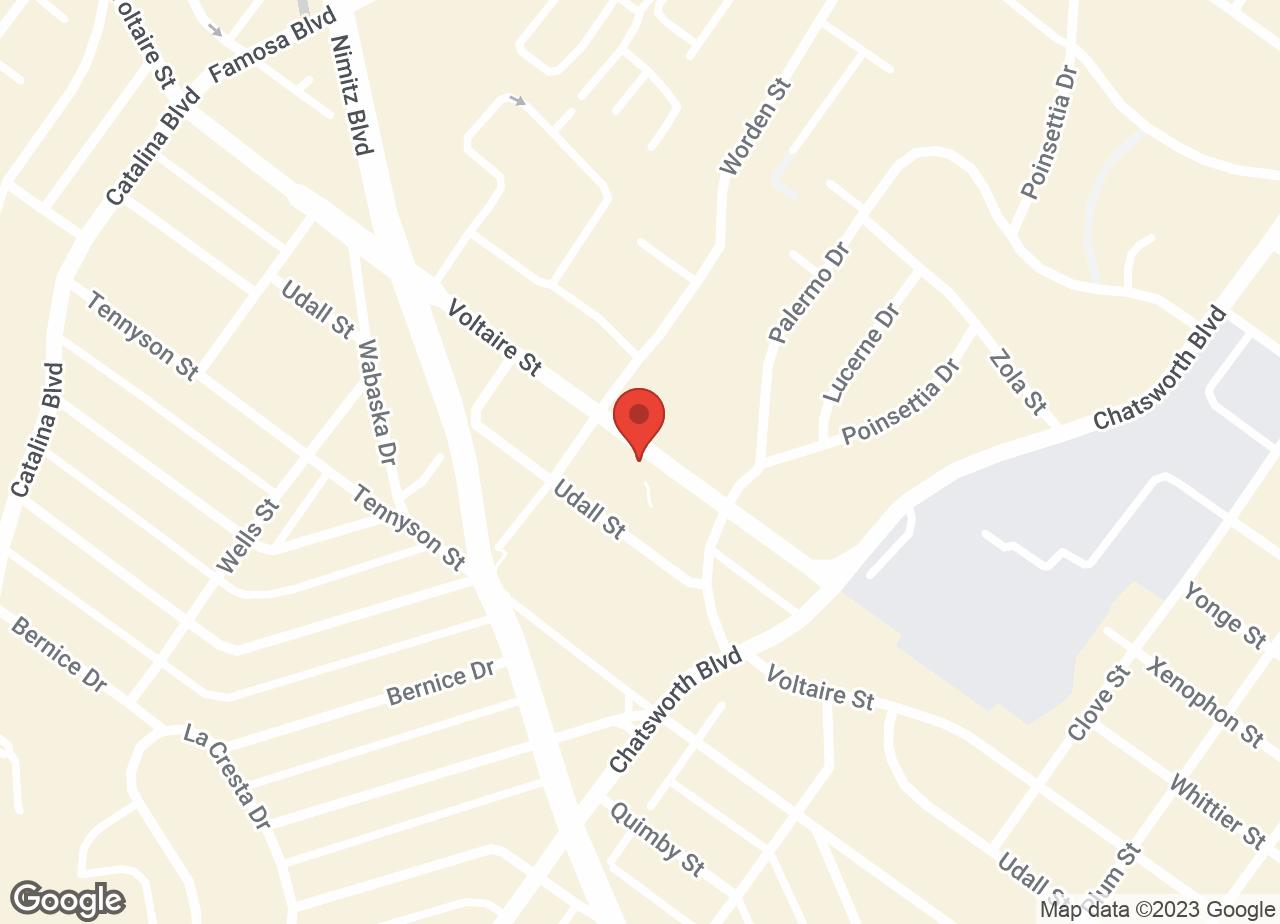 Google Map of VCA Peninsula Animal Hospital