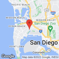 Corvette Diner on the map