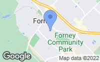 Map of Forney, TX