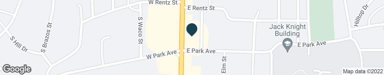Google Map of1317 S MAIN ST