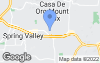 Map of Spring Valley, CA