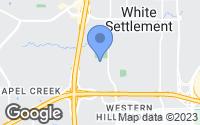 Map of White Settlement, TX
