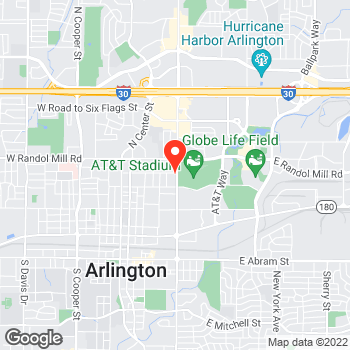 Map of Pizza in Arlington, TX – Cicis Pizza at 826 N. Collins Street, Arlington, TX 76011