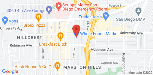 Directions to Whole Foods - Hill Crest