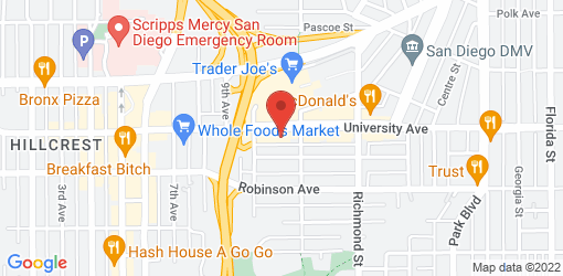 Directions to Lestat's Hillcrest Coffee House