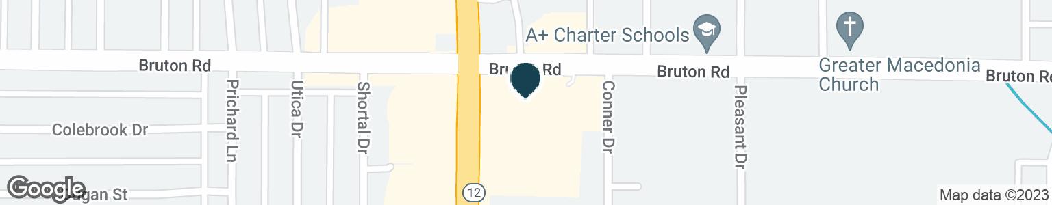 Google Map of2060 S BUCKNER BLVD