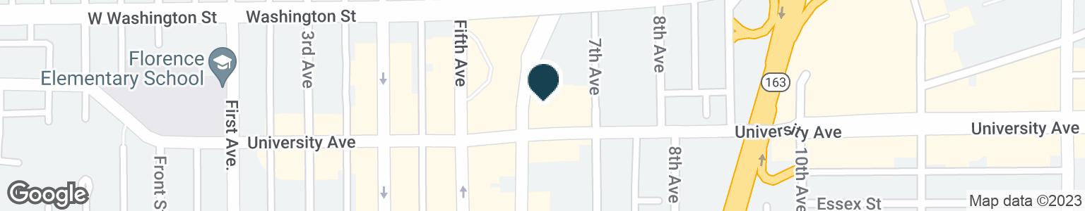 Google Map of640 UNIVERSITY AVE