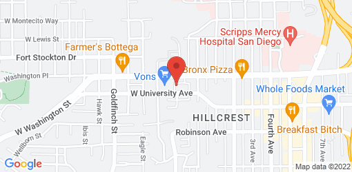 Directions to Burger Lounge - Hill Crest