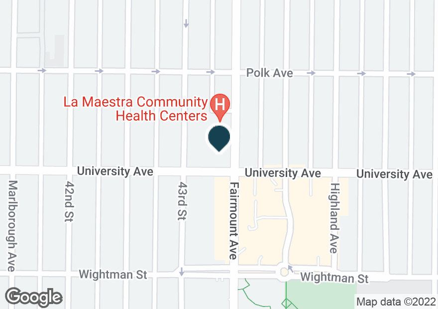 Google Map of4029 43RD ST