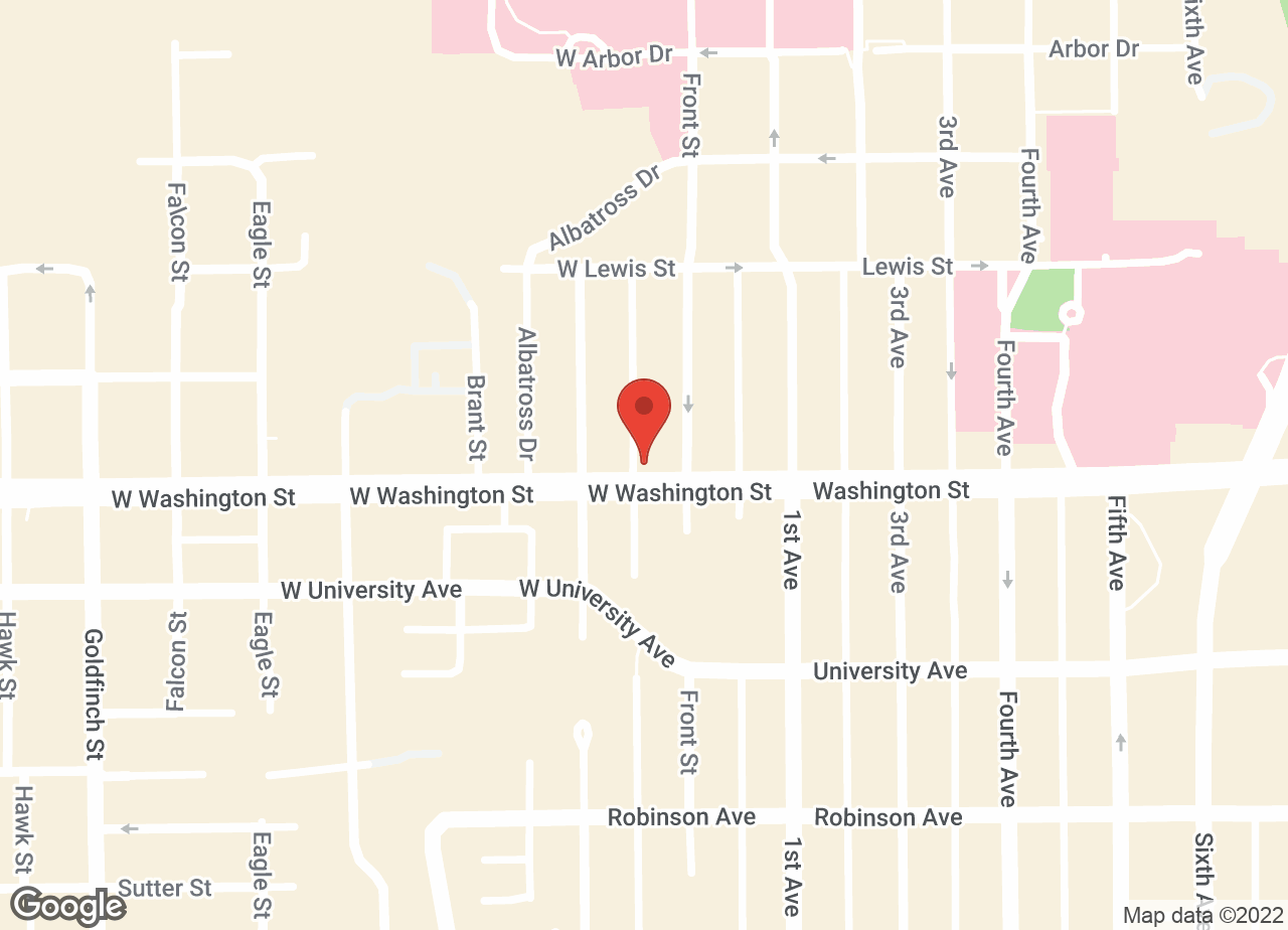 Google Map of VCA Hillcrest Animal Hospital