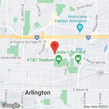 Map of Check `n Go Collins at 1083 N Collins, Arlington, TX 76011