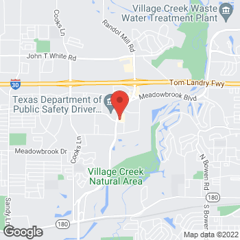 Map of Check `n Go Eastchase Pkwy. at 1801 Eastchase Pkwy., Fort Worth, TX 76120