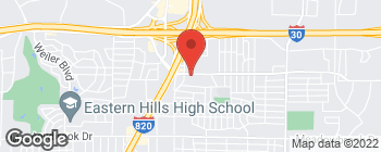 Map of 6716 Brentwood Stair Rd in Fort Worth
