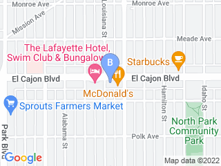 Map of Bark Boulevard Dog Boarding options in San Diego | Boarding