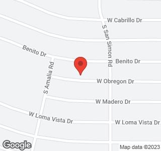 11702 W OBREGON Drive