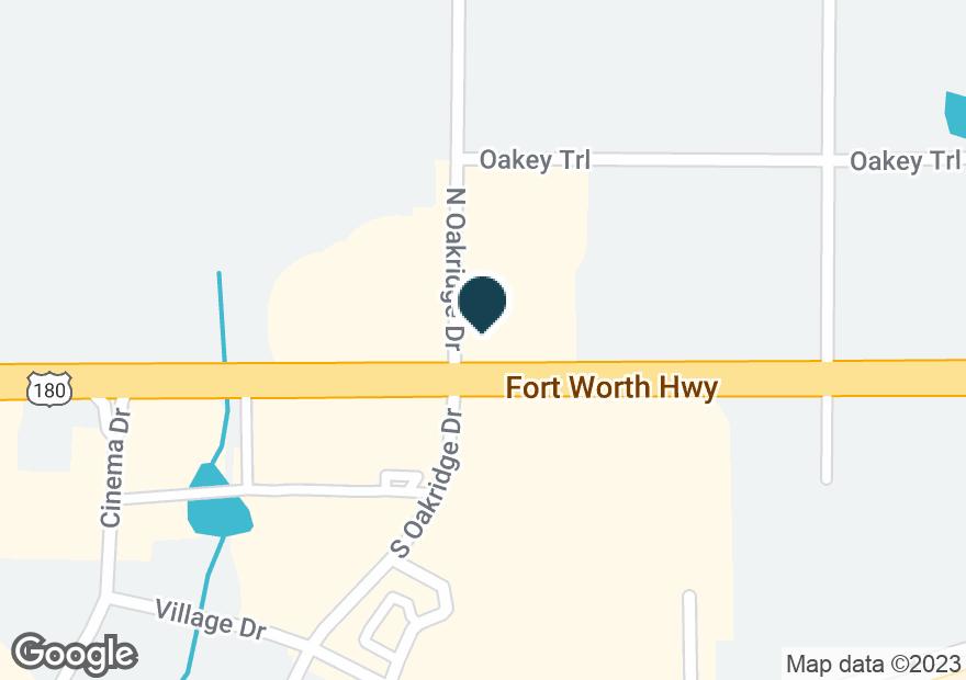 Google Map of130 N OAKRIDGE DR