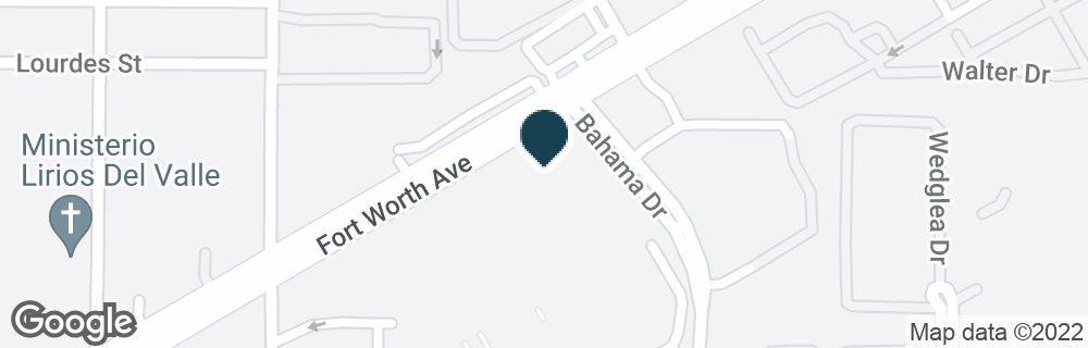 Google Map of2602 FORT WORTH AVE