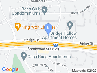 Map of Bridge Street Animal Clinic Dog Boarding options in Fort Worth | Boarding