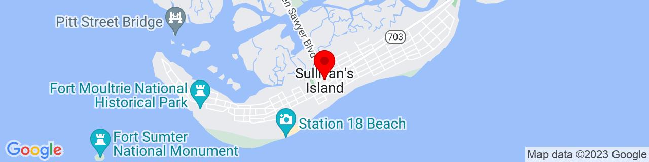 Google Map of 32.76323, -79.83675