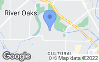 Map of Fort Worth, TX