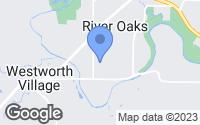 Map of River Oaks, TX
