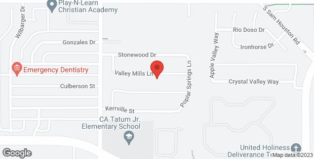 9712 Valley Mills Lane Dallas TX 75227