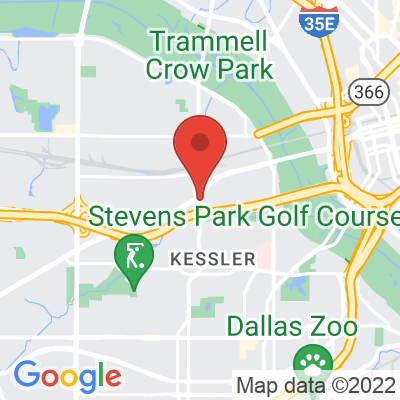 Map showing Houndstooth Coffee (Sylvan Ave)