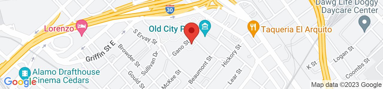 Vogel Alcove, Gano Street, Dallas, TX, USA