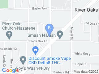 Map of Town & Country Veterinary Clnc Dog Boarding options in Fort Worth | Boarding