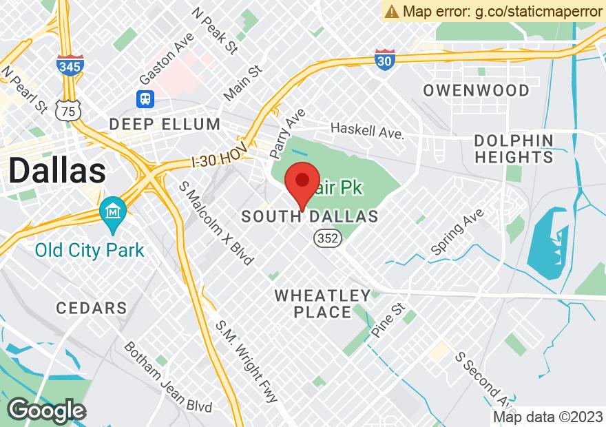 Google Map of 1461 ROBERT B CULLUM BLVD