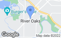 Map of River Oaks, TX