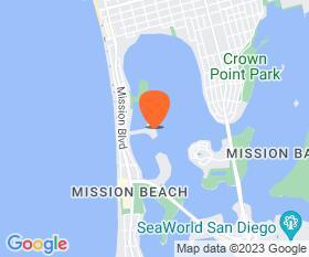 Mission Bay Yacht Club Location